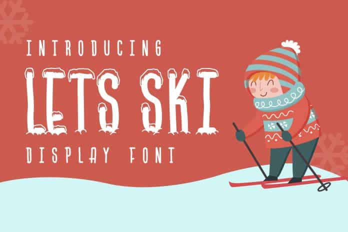 Free Winter Themed Font