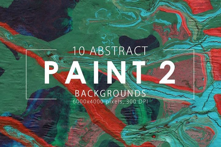 FREE- Abstract Paint Backgrounds Vol.2