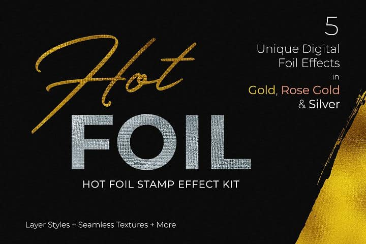 FREE – Gold, Glitter and Glimmer Effect Kit