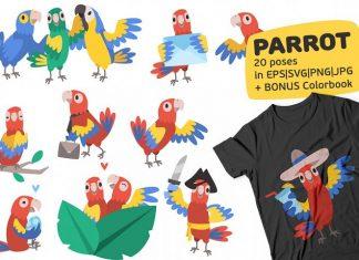 Free Parrot Illustrations