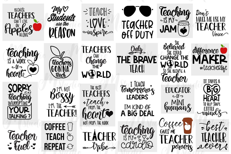 Teacher Svg Design Bundle Xquissive Com