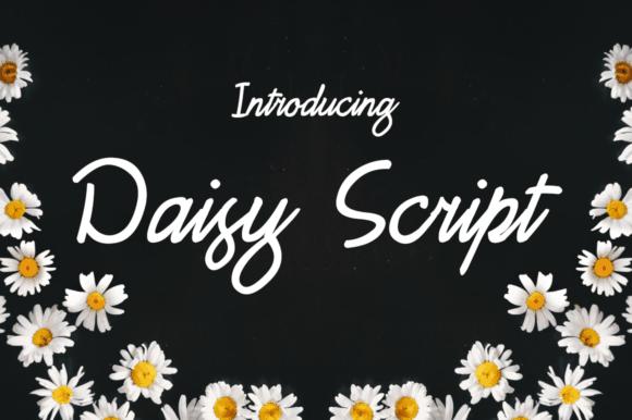 FREE – Daisy Script Font