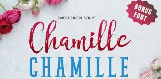 Chamille Free Script Font