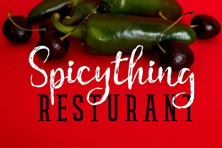 Spicything - Free Chamille Script Font