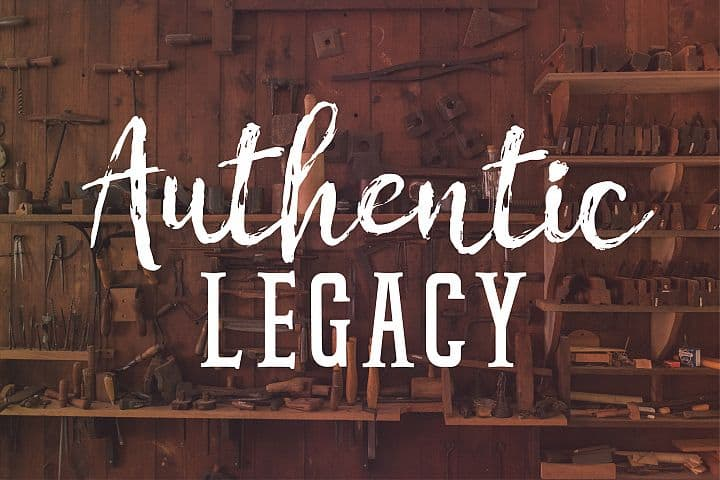 Authentic Legacy - Free Chamille Font
