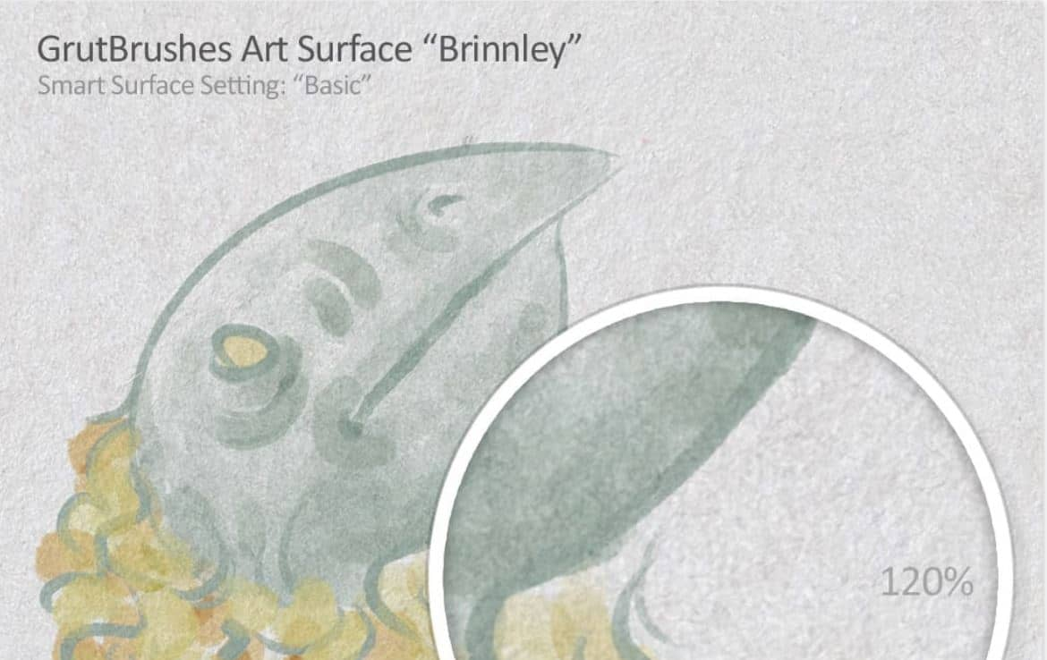 Brinnley art surface paper