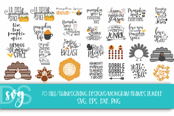 FREE – SVG Designs Bundle for Halloween and Thanksgiving