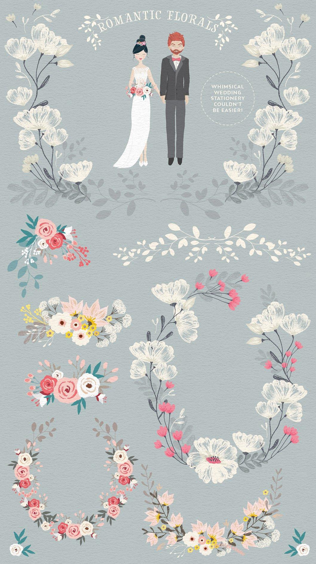 Wedding Elements in Portrait Creator