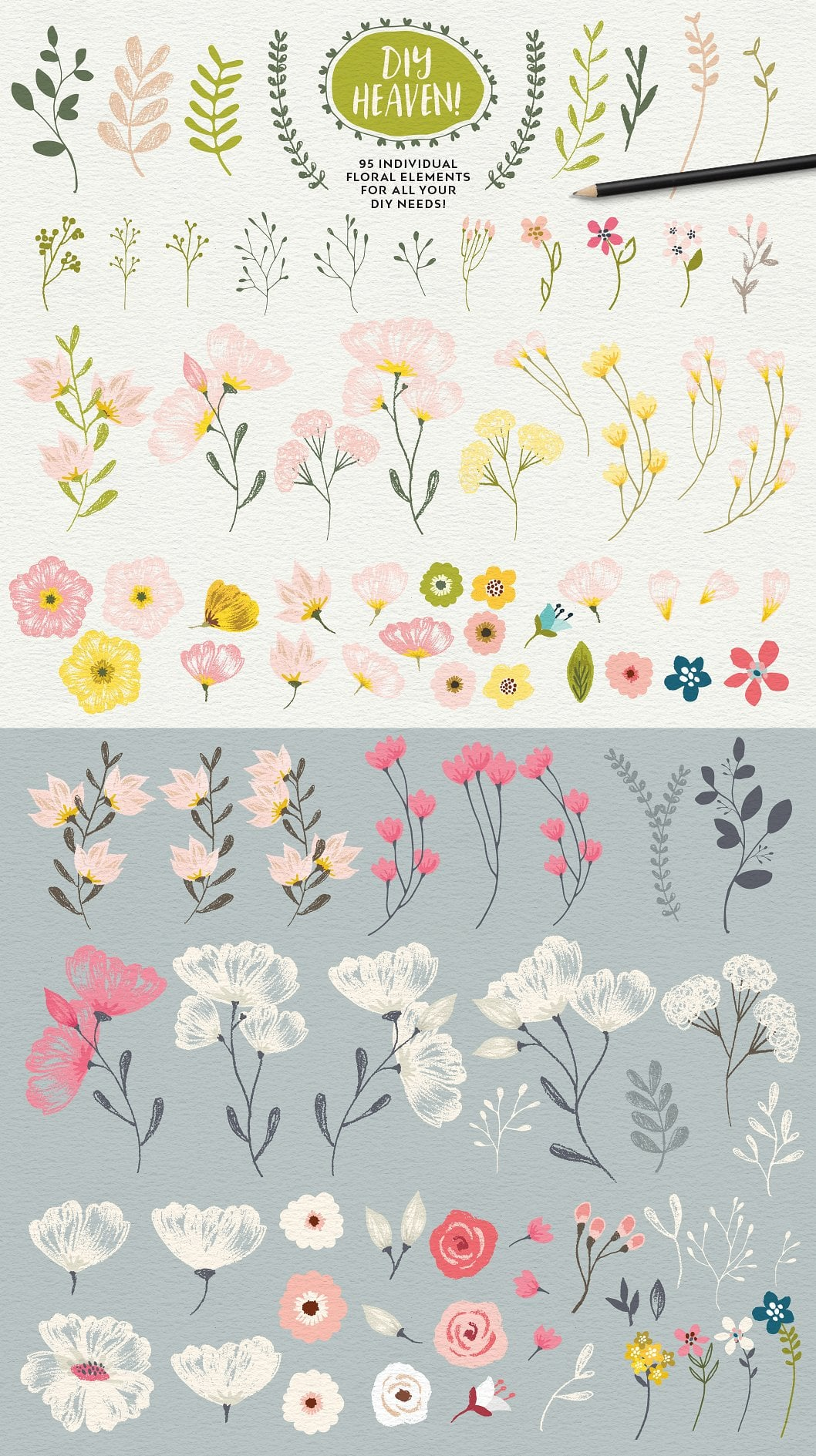 Flower Elements in Portrait Creator