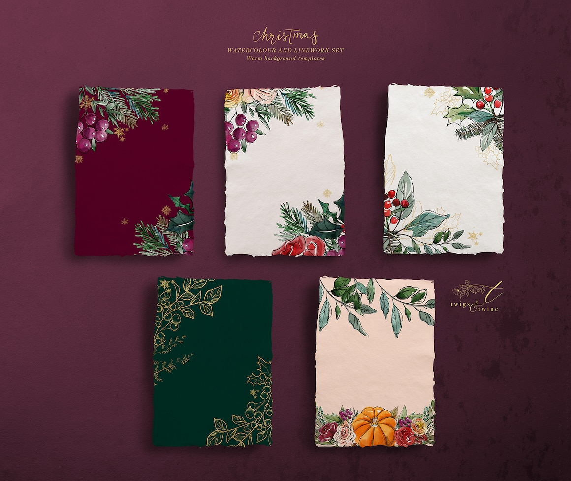 Christmas Design Bundle - Christmas Cards