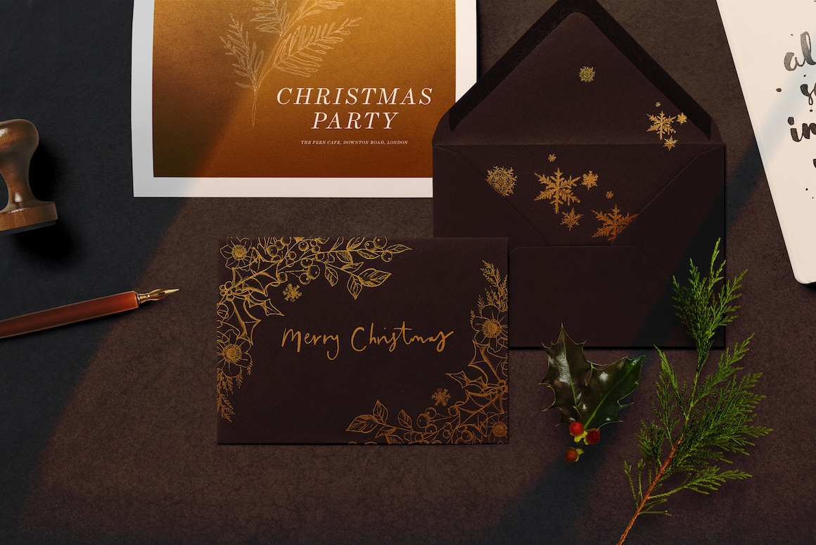 Christmas Design Bundle - Create your own Christmas Cards