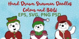 Free Snowman Illustrations