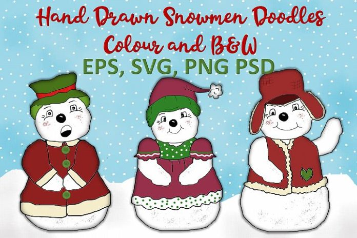 Free Snowman Illustrations
