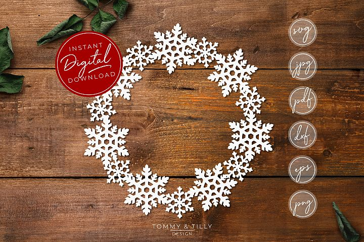 Free Snowflake Cutting file