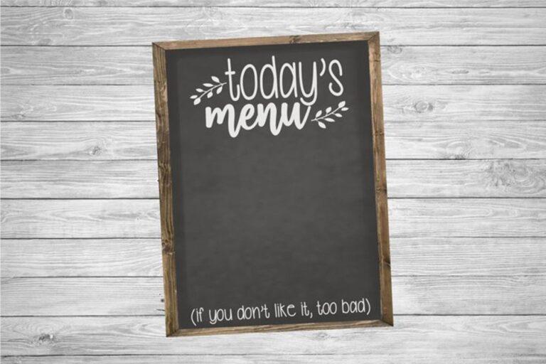 FREE – Kitchen SVG Cut File