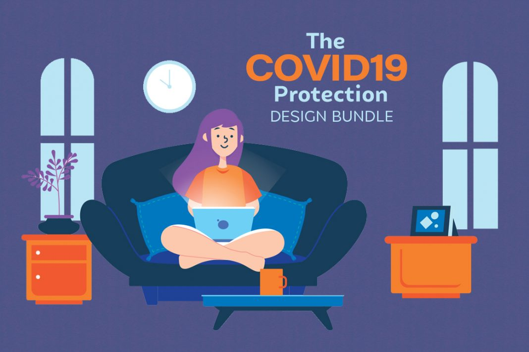 COVID 19 STAY AT HOME DESIGNS BUNDLE