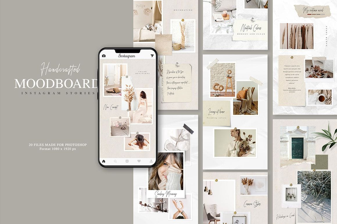 Moodboards For Instagram Template
