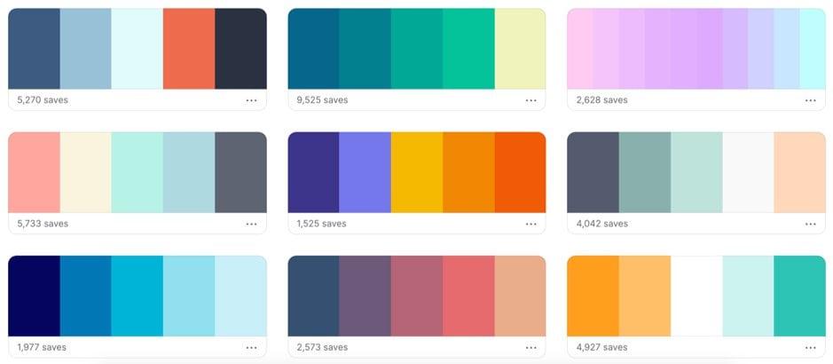 Coolors - Colour Palette Generator