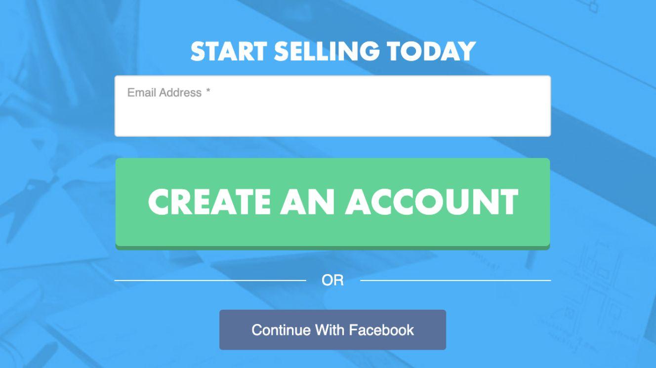 Create an account with teepublic and earn money