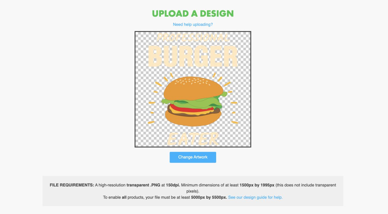 Upload your designs at teepublic and earn money with POD