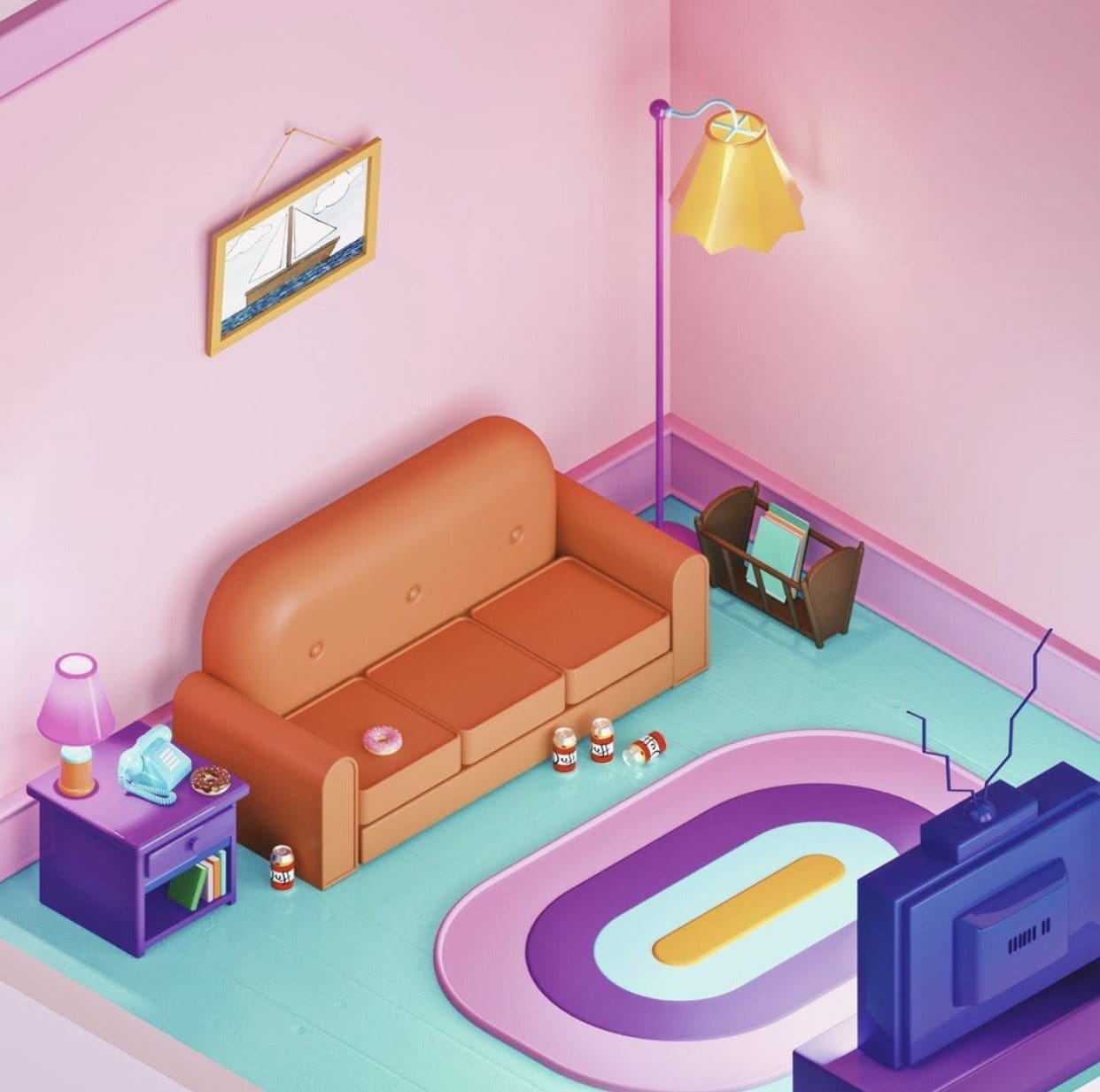 Isometric House by Amrit Pal Singh