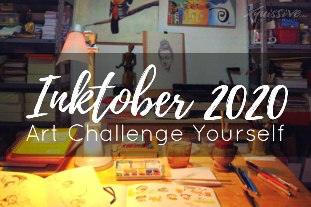 Inktober 2020 - Art challange
