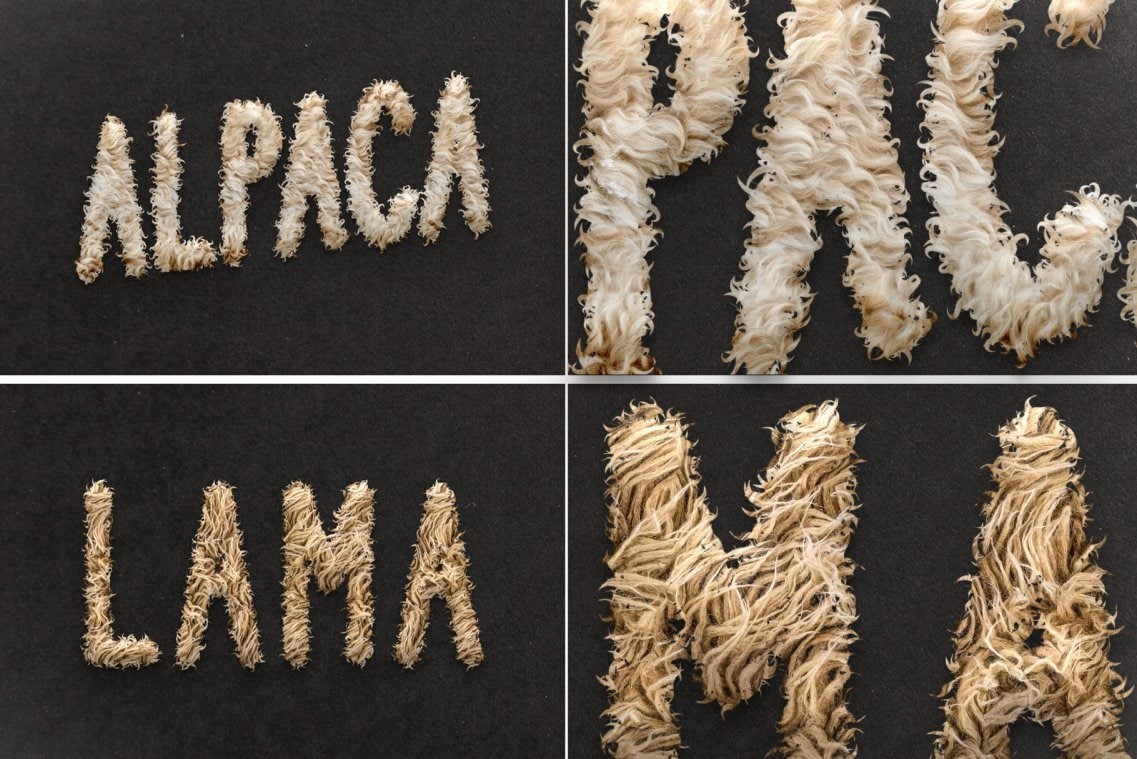 Fur Styles Actions Brushes - Alpaca and Lama fur