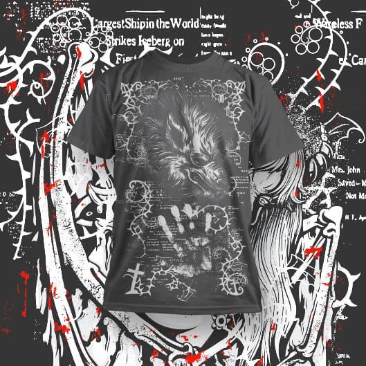 Goth Designs for POD