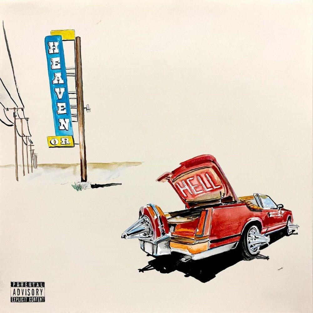 Beste Album Cover Design - Heaven or Hell – Don Toliver