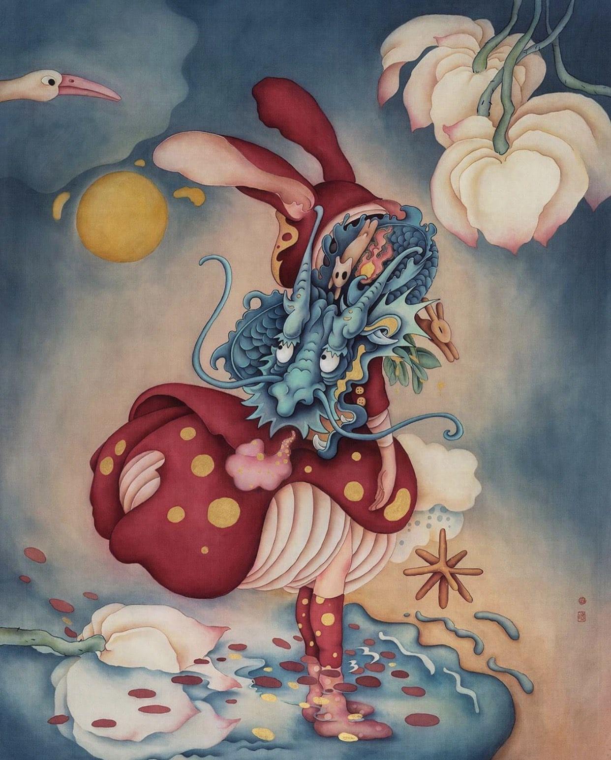 Artwork of Alice Lin - Artist of the Week