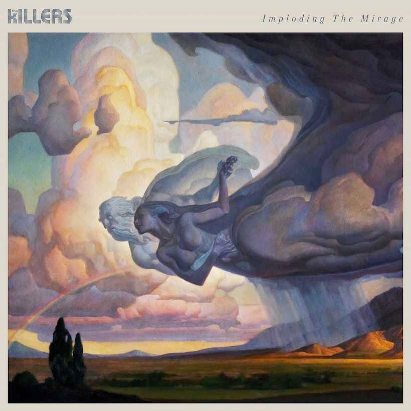 Best Album Cover Design - Imploding The Mirage - The Killers