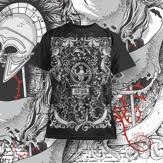 Insanely Detailed tshirt designs for pod