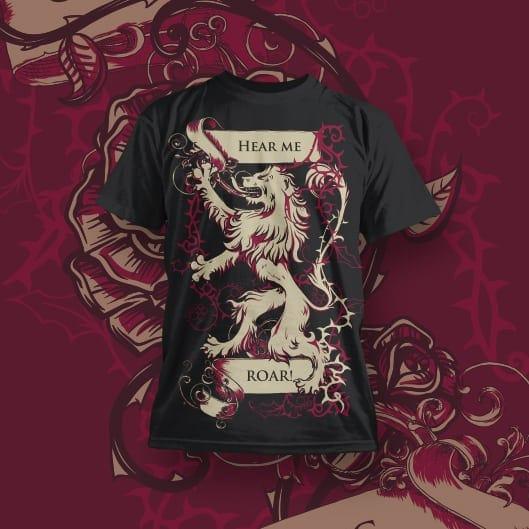 Pop-Culture T-shirt Designs for POD