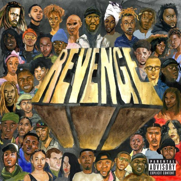 Best Album Cover Design - Revenge of the Dreamers III – Dreamville