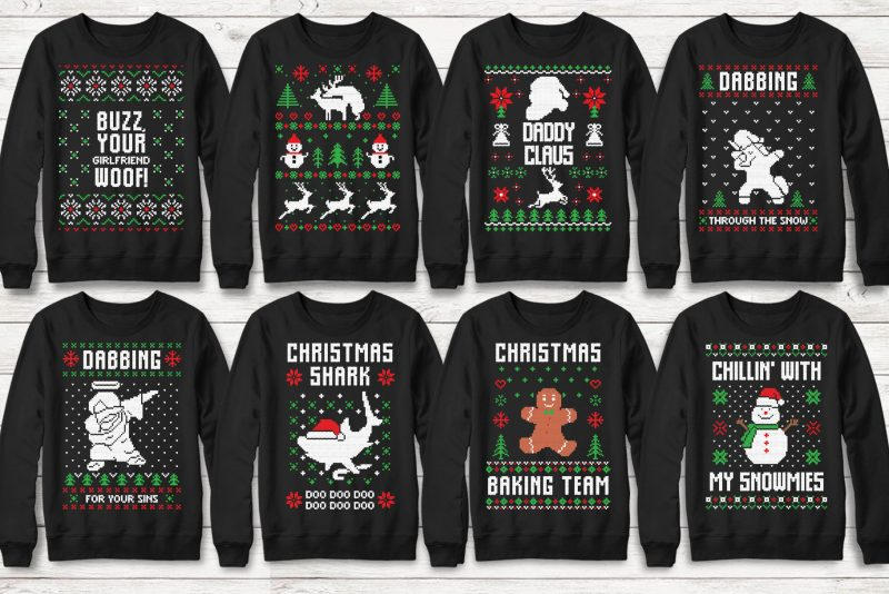 Ugly Christmas Sweater Designs 2