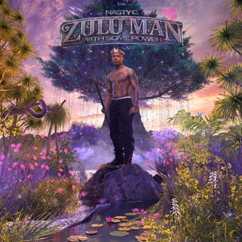 Best Music Album Cover Design - Zulu Man With Some Power