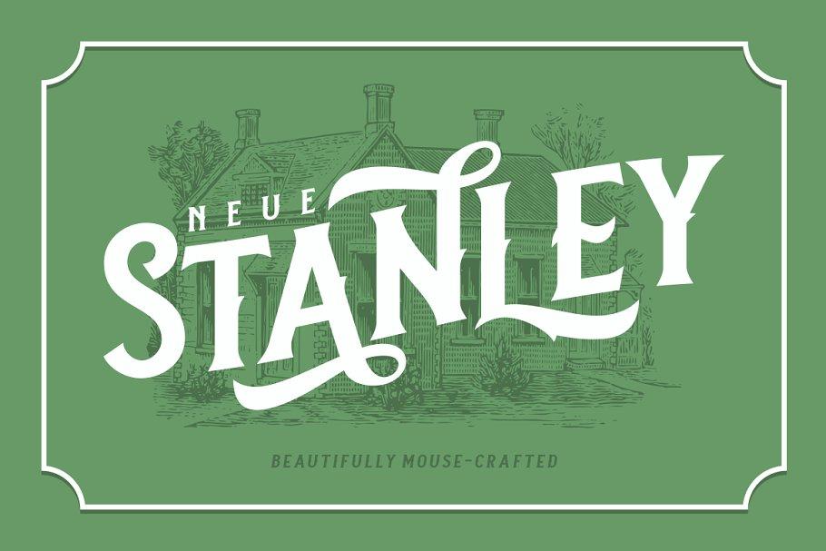 Neue Stanley Font