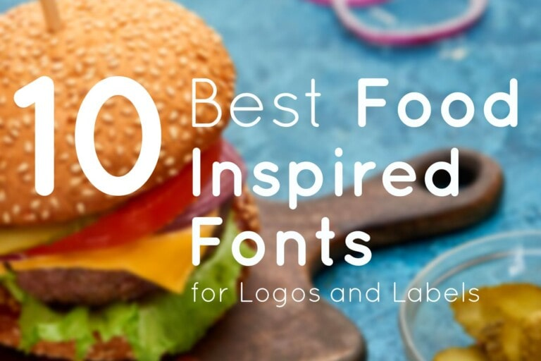 10 Best Food Inspired Fonts for Logos and Labels