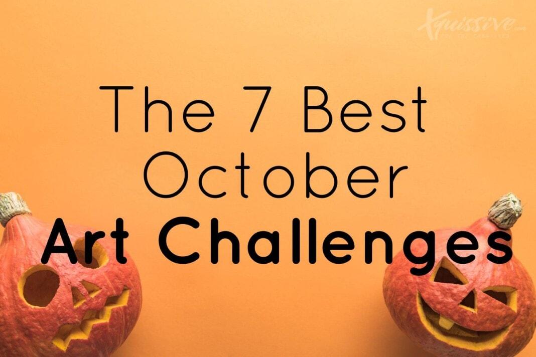 7 best october art challenge