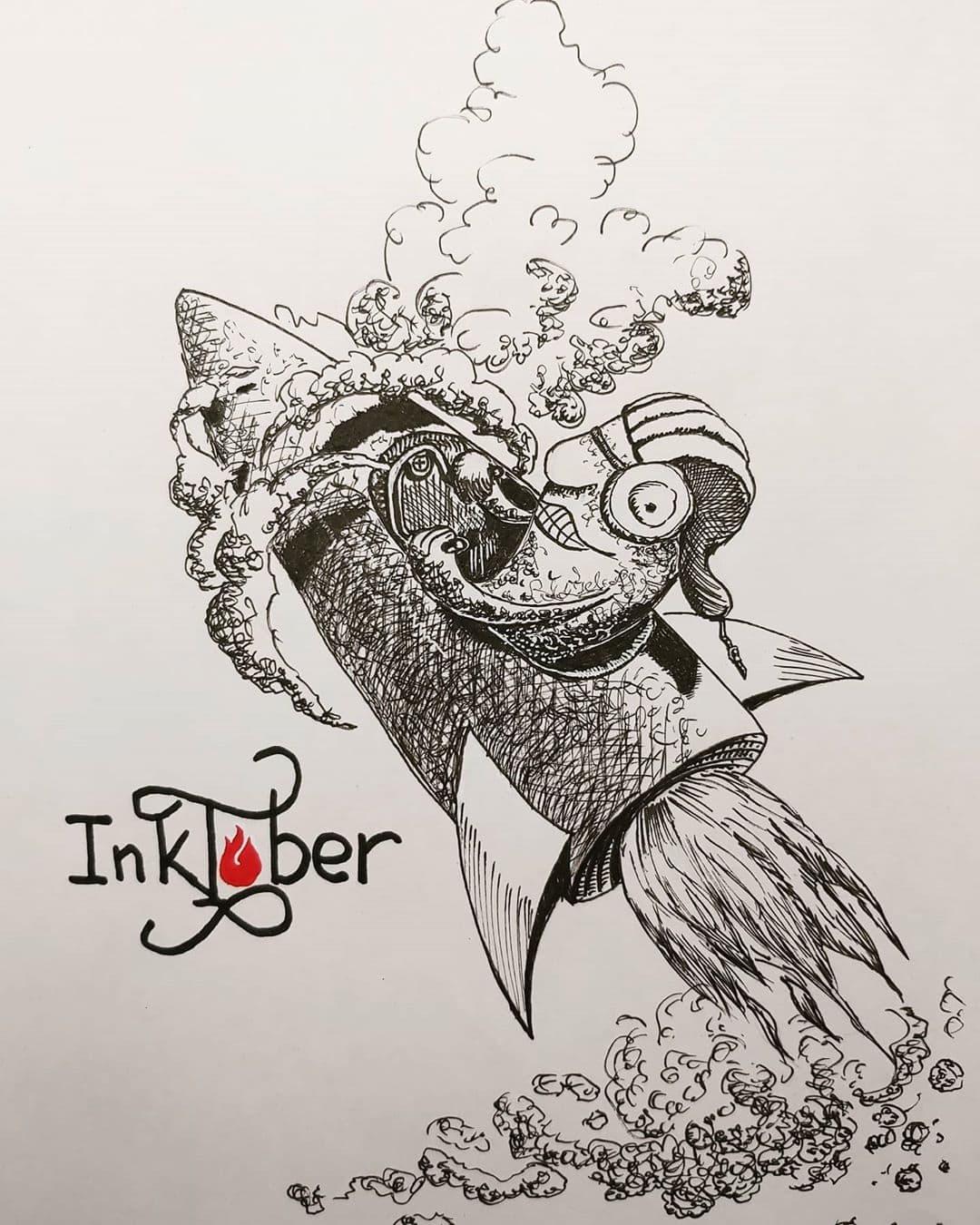 Inktober Wisp - _drbn_ln_