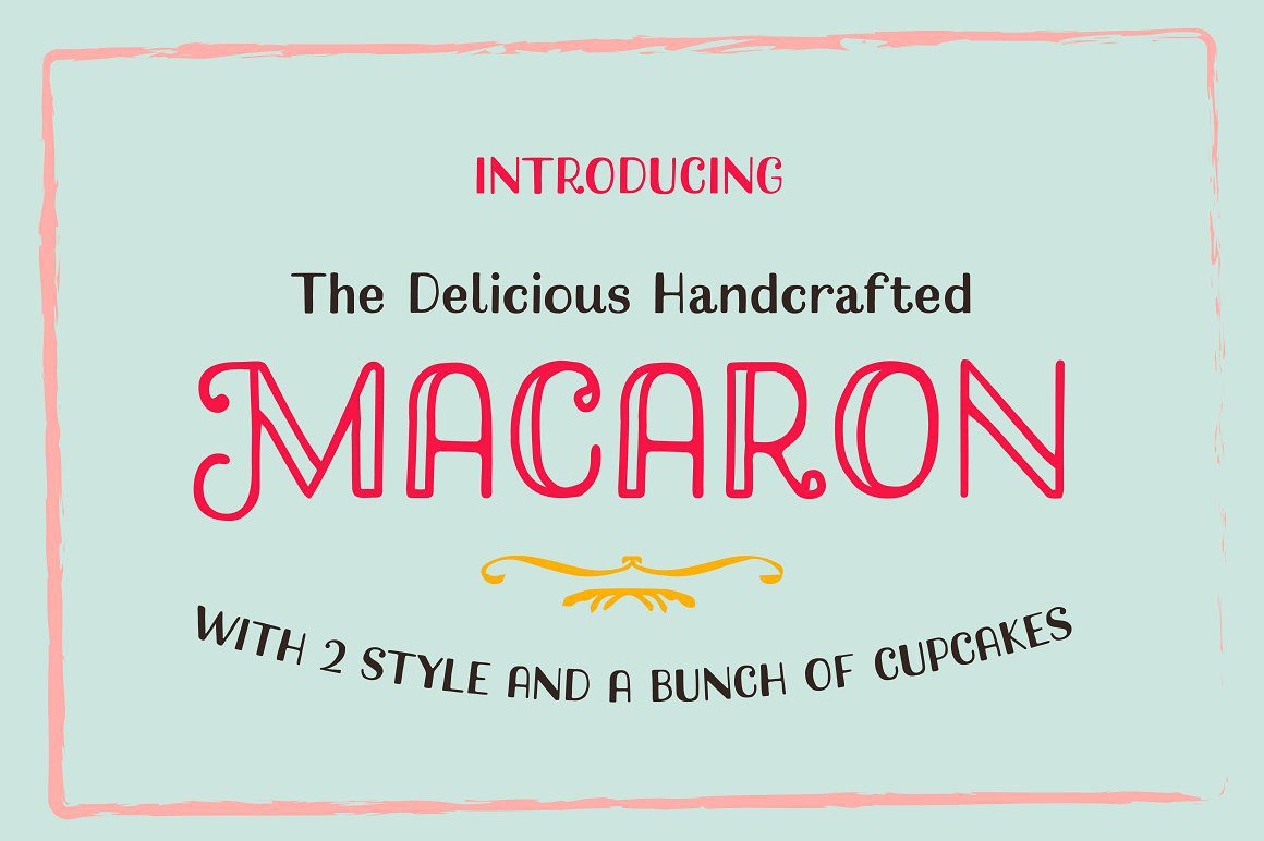 Macaron Handcrafted Typeface By Alterna Typefoundry