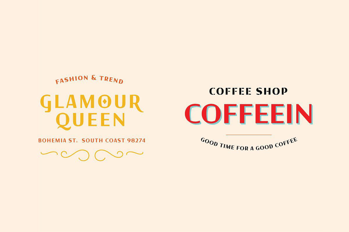 Tarquin Typeface By Alterna Typefoundry