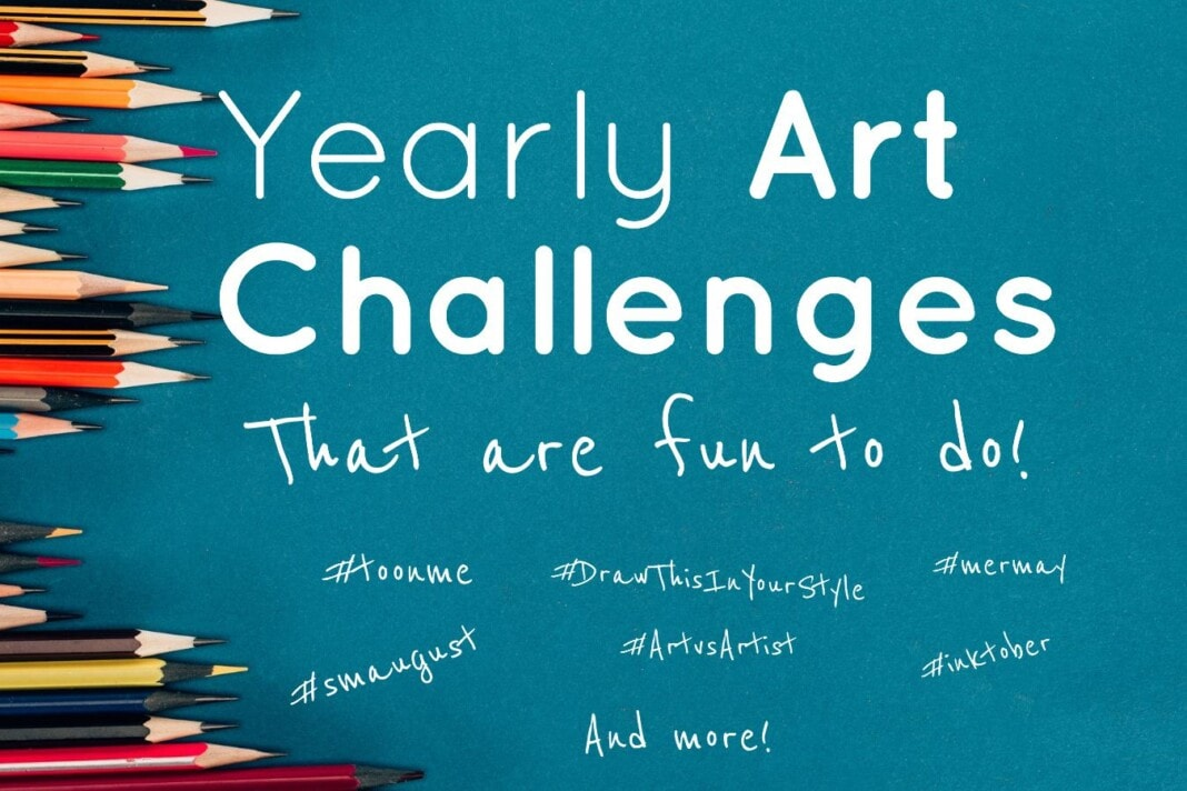 10 Yearly Art Challenges