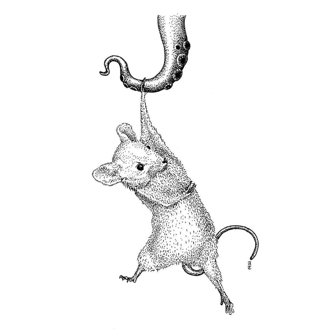 Inktober 2020 - Rodent - alex.terez