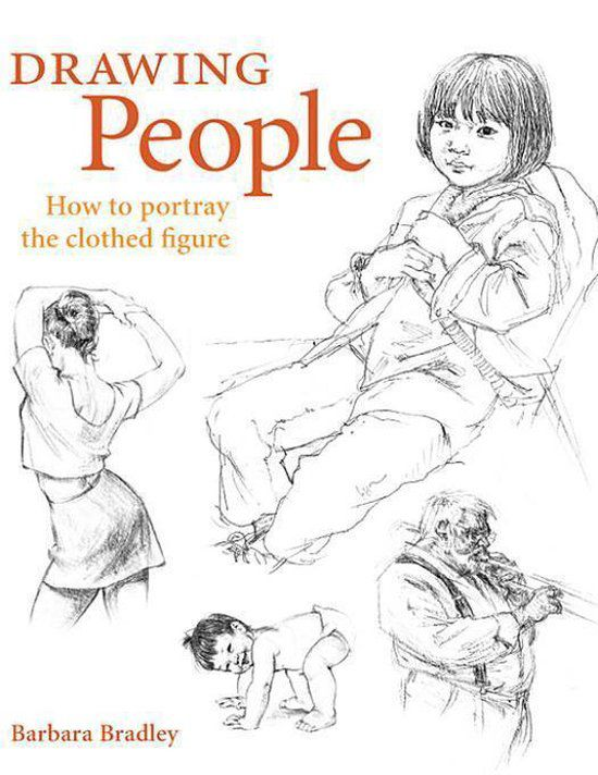 drawing people - Barbara Bradley