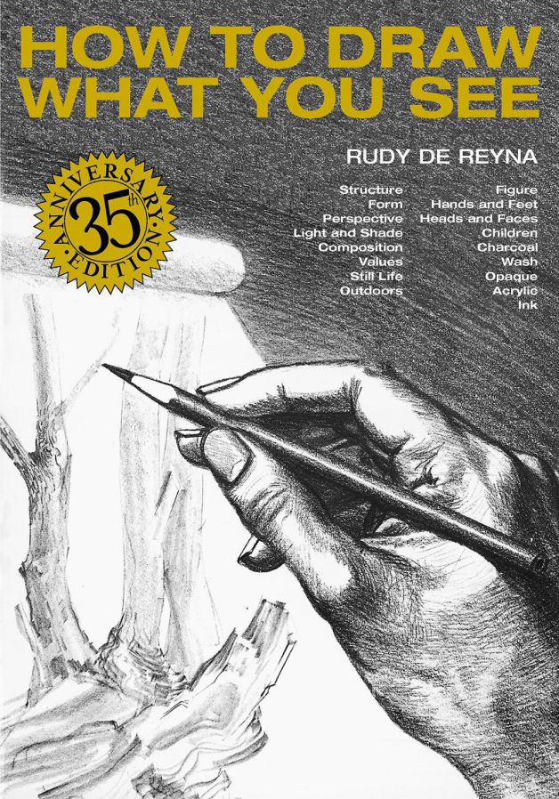 How to draw what you see - Rudy de Reyna