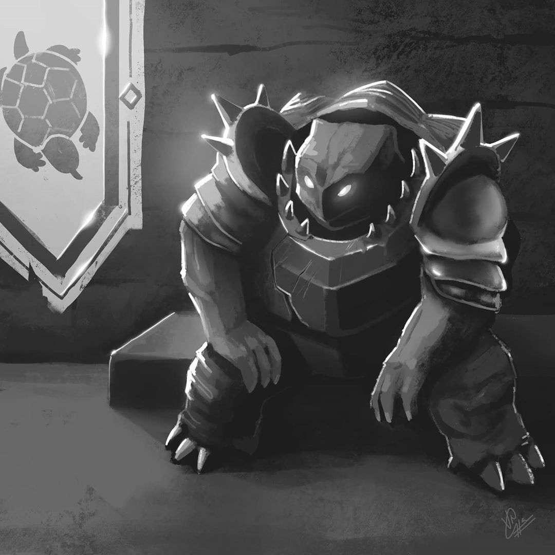 Inktober 2020 - Armor - vrushankgajjar