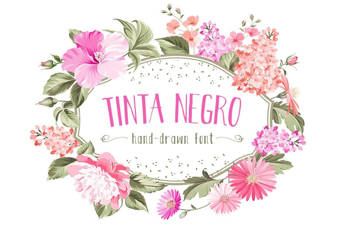Free Hand Drawn Font Tina Nego