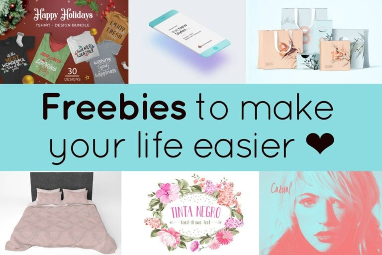 6 Freebies to make your life easier ❤