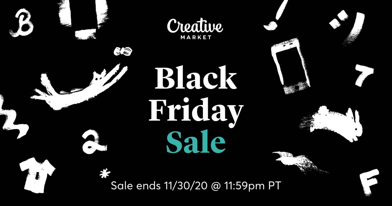 CreativeMarket Black Friday Sale